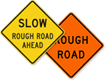 Rough Road Signs