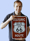 History of Route Markers and Route 66