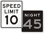Looking for Speed Limit Signs?