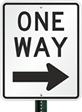 Stock One Way Signs