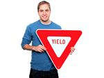 Looking for Traffic Yield Signs?