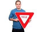 Yield Traffic Signs