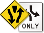 Looking for Two-Way Traffic Signs?