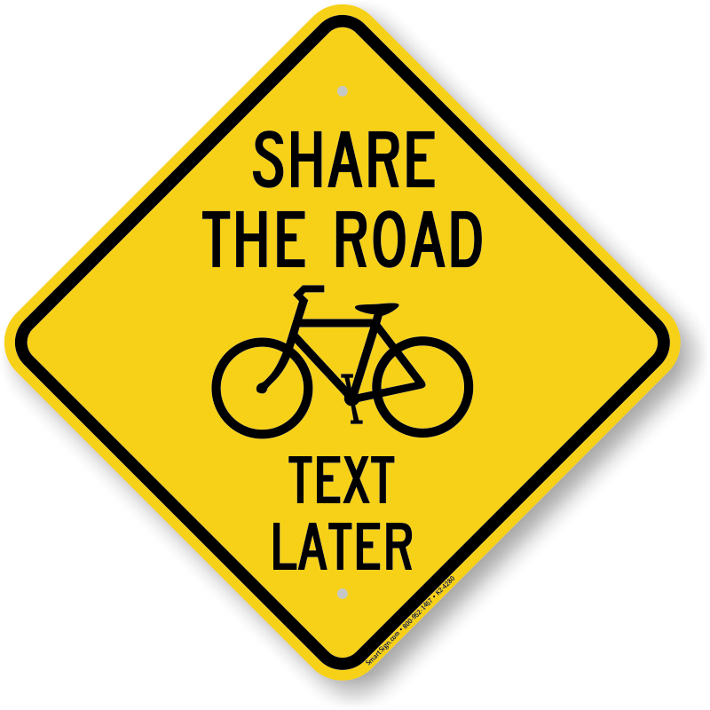 mutcd share the road signs