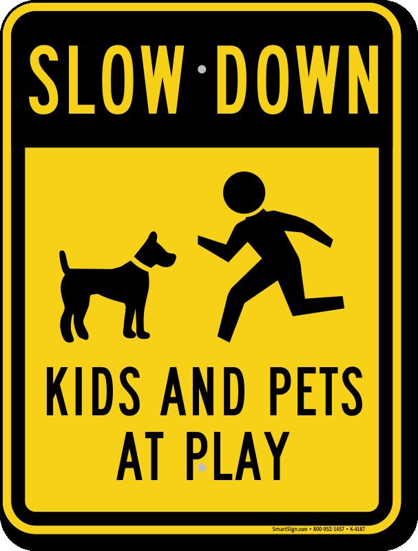 Slow Kids at Play Signs | Kids at Play Signs