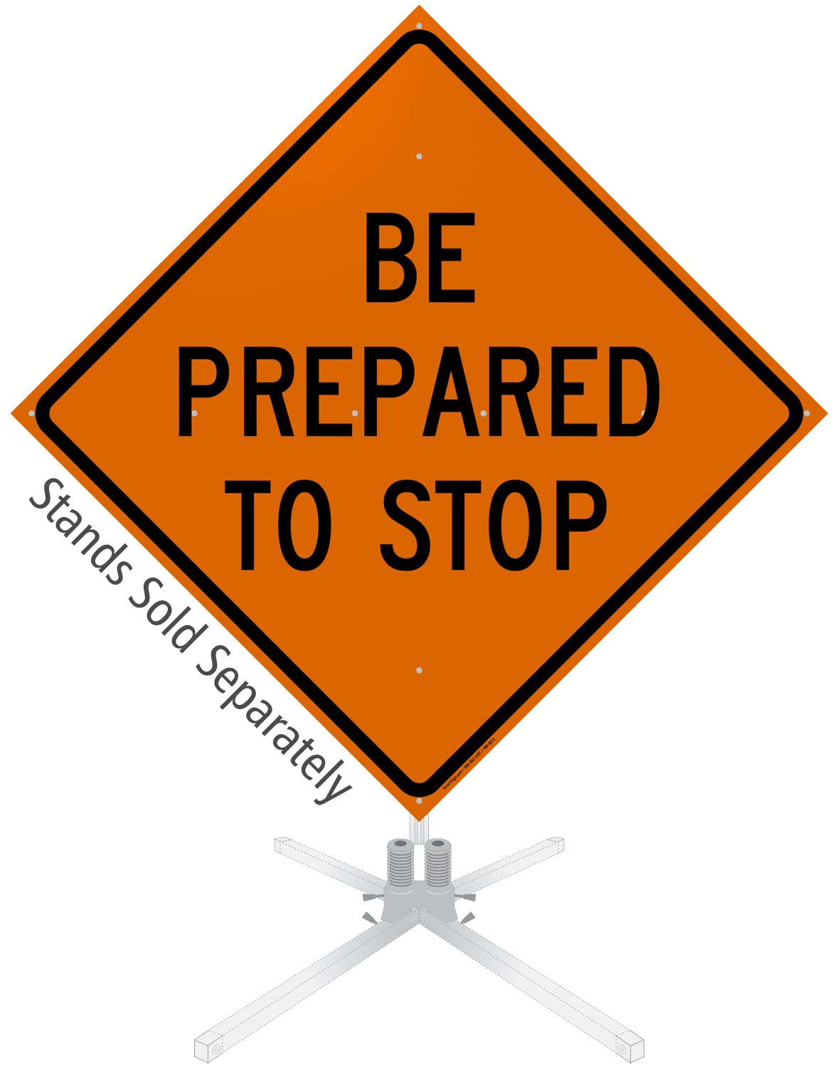 STOP Ahead Signs | Signal Ahead Signs