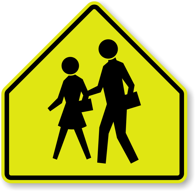 School Children Sign S1 1 Sku X S1 1