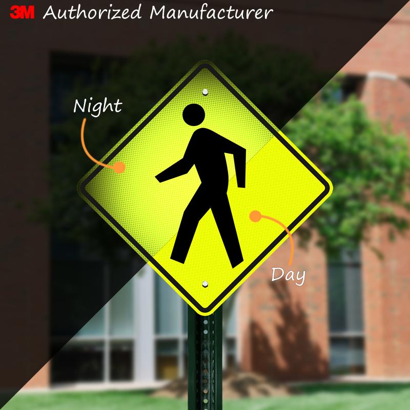 Pedestrian Symbol Sign W11 2 Sku X W11 2