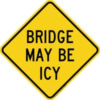 Bridge May Be Icy Warning Sign