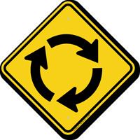 Clockwise Intersection Symbol