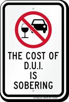 Cost Of D.U.I Is Sobering Sign
