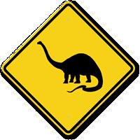 Dinosaurs Symbol - Animal Crossing Sign
