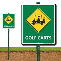 Golf Carts Sign