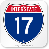 Interstate 17 (I-17)Sign