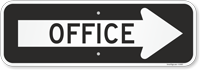 Directional Office Sign