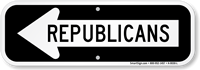 Republicans Sign With Left Arrow