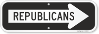 Republicans Sign With Right Arrow