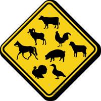Various Animal Crossing Symbols Sign