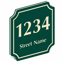Add Custom Street Name And Number PermaCarve Sign