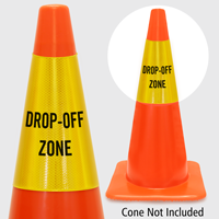 Drop Off Zone Cone Collar