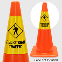 Pedestrian Traffic Cone Collar