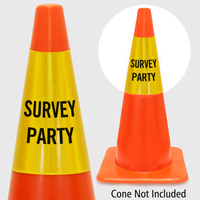 Survey Party Cone Collar