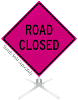 Road Closed Roll-Up Sign