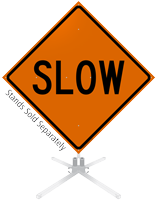 Slow Roll-Up Sign