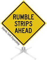 ahead signs strips Rumble