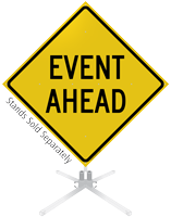 Event Ahead Roll-Up Sign