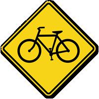 Bicycle Symbol - Traffic Sign