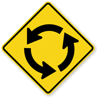 Circular Intersection (Symbol) - Traffic Sign