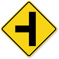Side Road (Symbol) - Traffic Sign