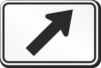 Arrow Symbol - Route Marker Sign