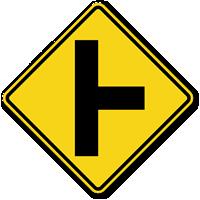Side Road (Symbol) - Traffic Sign
