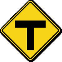 T-Symbol - Traffic Sign