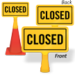 Closed ConeBoss Sign