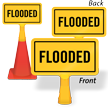 Flooded ConeBoss Sign