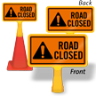 Road Closed ConeBoss Sign
