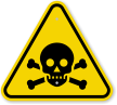 ISO Toxic, Poison Symbol Warning Sign