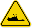 ISO Poisonous Gas Dead Bird Symbol Warning Sign