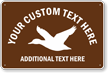 Add Your Text Here Custom Parking Sign