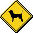 Chihuahua Symbol Guard Dog Sign