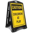 Children At Play Sidewalk Sign Kit