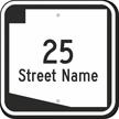 Custom Arizona Highway Sign