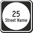 Custom Delaware Highway Sign