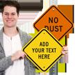 Customizable Diamond Sign Template