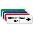 Directional Text - Right Arrow Custom Sign