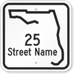Custom Florida Highway Sign