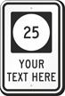Custom Iowa Highway Sign
